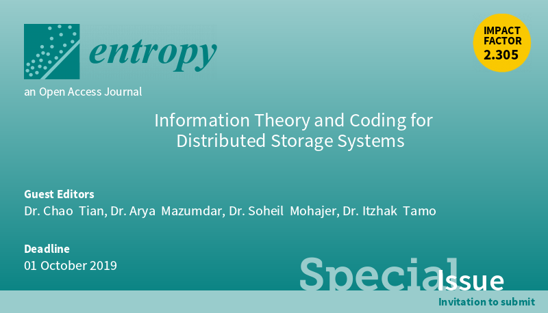 Information Theory and Coding for Distributed Storage Systems